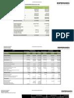 1 Ejecucion Presupuestaria 2018 Esperanza
