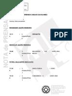 NP JuegosEscolaresCalendarioJornada1, 07-11-19
