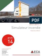 2012-2014 _ Simulateur Incendie. Route de La Rama 1. Arch. Www.lausanne.ch_architecture