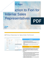 SD Sales Order Fulfillment Monitor CF