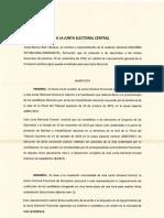Recurso de ERC a la Junta Electoral Central