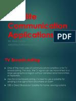 Satellite Communication Applications