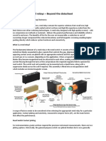 Designing With reed relays- Beyond the Datasheet