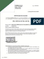 Certif. Calidad Casimir