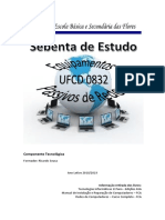 Sebenta de Estudo UFCD 0832