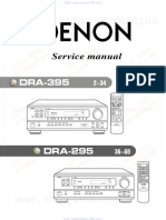 DENON DRA-395 Owners Manual