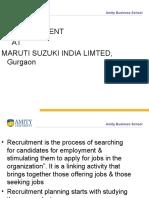 482f2Recruitment at Maruti