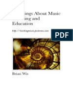 25 Things About Teaching Music