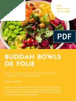 eBook Buddah Bowls de Folie 1