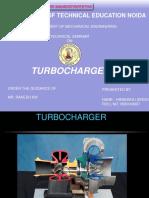 Himanshu Singh Turbocharger-seminar Ppt