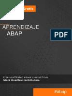 Aprendizaje ABAP