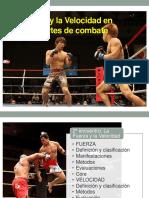 La Fuerza y La Velocidad en Los Deportes de Combate