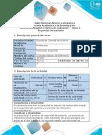 Guía de Actividades y Rúbrica de Evaluación - Tarea 4 - Seguridad de Paciente