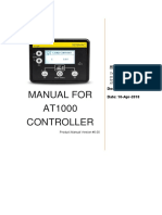 Sed Man At1000 002 Manual for At1000 Controller