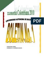 boletin sobre la economia del carbon en colombia