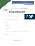 Informe de PTAR