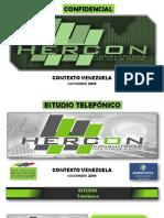 Estudio Telefónico Nacional Hercon Noviembre 2019