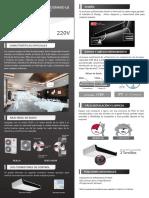 Lg Flyer-ficha Tecnica-techo Inverter Solo Frio 220v r410a