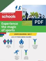 Sportz Village Schools PTM Ppt