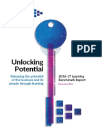 Unlocking Potential. Releasing the potential of the business and its people through learning