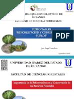 Importancia de Las Reforestaciones en México