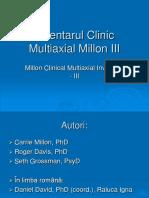 Inventarul Clinic Multiaxial Millon III.ppt