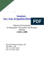 Regulador Gera 2000 1