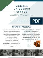 Modelo Epidémico Simple.