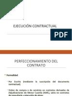 Ejecución Contractual