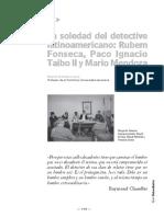 La Soledad Del Detective Latinoamericano