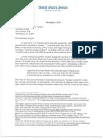 Sens. Grassley-Johnson Letter to Sec. Pompeo (11-06-2019)