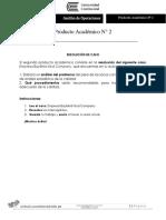Producto Academico N° 2 Gestión de Operaciones