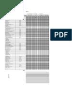 Plantilla Check List APQP