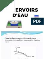Les Réservoirs d'Eau