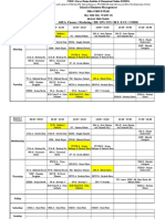 Final Nmims Mba Yr II 2019-20 Timetable