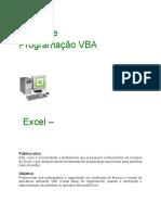 Excel Macros e VBA