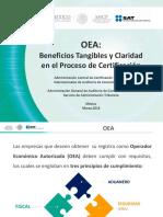 Beneficios Tangibles y Claridad de La Certificacion OEA