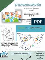 Afiche de Sensabilización, Catedra.
