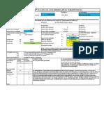 Excel modelo reporte de avance de obra