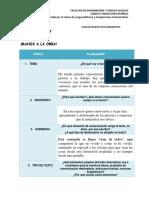 Plan de Escrito Texto Descriptivo - Instrucciones (1)
