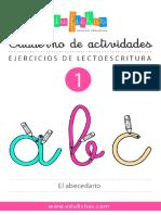 001el Cuaderno Abecedario Edufichas 2019