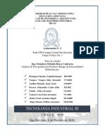 LABORATORIO 2 Analisis de Post Producción TIR 315