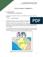 Proyecto Tia Maria Chipispaya Generalidades
