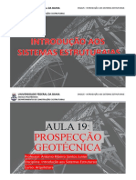 Eng025 - Aula 19 - Prospeccao Geotecnica