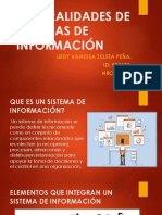Generalidades de Sistemas de Información