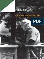 (Terry Lectures) John Dewey_ T. M. Alexander (Intro.) - A Common Faith-Yale University Press (2013)