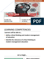 THE RELEVANCE OF CRITICAL THINKING TO MODERN EDUCATION MANAGEMENT.pptx