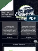 Plan de Marketing ECO CAR WASH