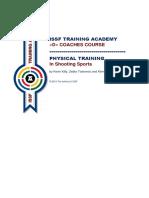 ISSF TA Physical Training
