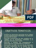 Modelos de gestión de la calidad para enfermeras en atencion primaria de la salud 2007  II